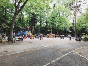 井の頭自然文化園 遊具